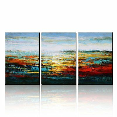 Abstract Oil Painting Modern Canvas Wall Art Decoration Original Home Decor