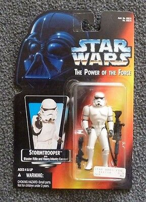 Star Wars Power of the Force Stormtrooper Action Figure MOC