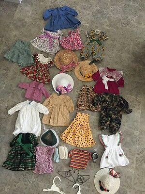 Huge Lot of Clothes For 18 inch Dolls Like American Girl