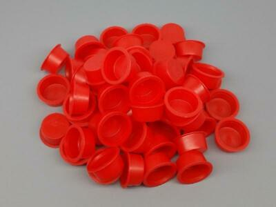 50 NEW 34 Plastic Plugs End Caps For Fireworks PYRO Tubes Crafts