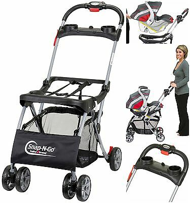 Universal Infant Car Seat Stroller Carrier Baby Safety Frame Trend Snap N Go New