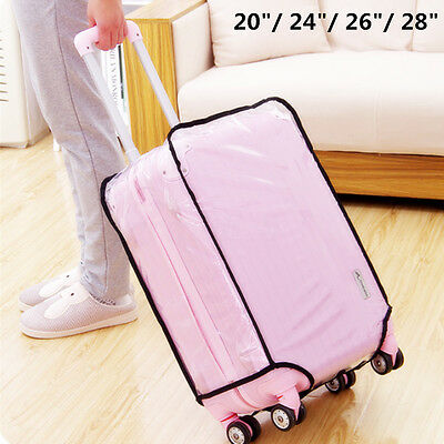 Waterproof Translucent Luggage Suitcase Cover Case Protector 20242628 inch