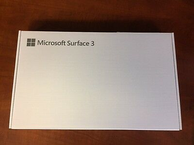 NEW Microsoft Surface 3 Tablet Silver 10-8-Inch 128 GB Windows 10 GL4-00009
