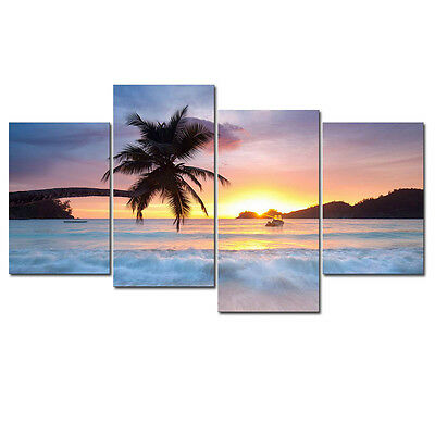 Canvas Print Painting Picture Landscape Sea Wall Art Home Decor Poster Framed