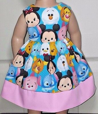 Doll ClothesHandmade18 InchesAmerican Girl DollsTsum Tsum Dress-