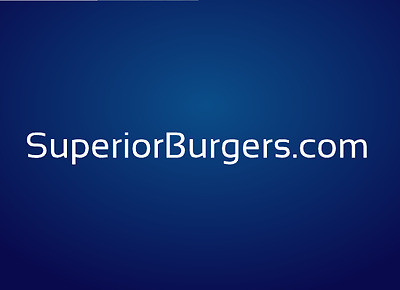 SuperiorBurgers-Com - Premium two word brandable Burgers domain name Godaddy