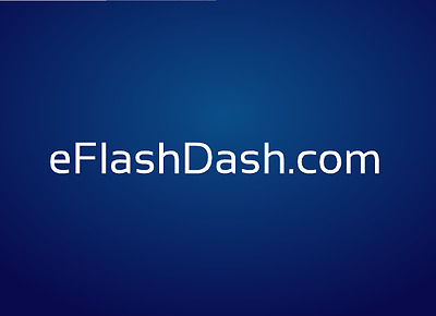 eFlashDash-Com - Premium two word brandable Flash cards domain name