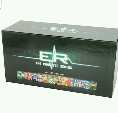 ER  The Complete Series - Seasons 1-15 DVD  Box Set 331 Episodes BRAND New
