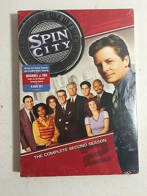 Spin City - The Complete Second Season DVD 2009 4-Disc Set  NewSealed