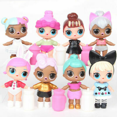 LOL Surprise Doll Baby Tear Series wBottles for Kids Toy Gift 8 Pcs Figures Set
