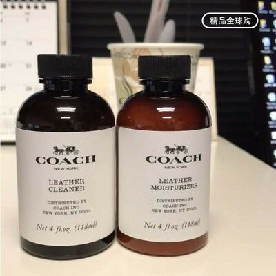 NWT New - Old Coach Leather Cleaner Moisturizer and Fabric Cleaner