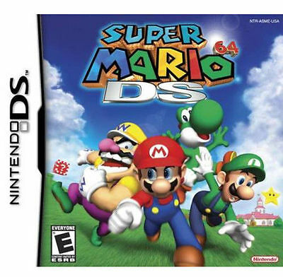Super Mario 64 DS Version GAME ONLY TEST GOOD WORKING US seller Fast ship