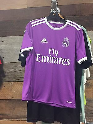 Real Madrid 2016-17 Youth Away Jersey