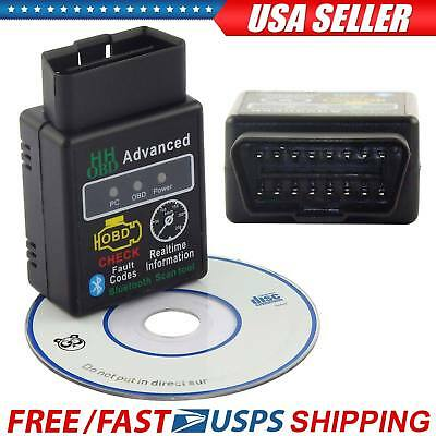 OBD2 ELM327 V2-1 Bluetooth Car Scanner Android Torque Auto Diagnostic Scan Tool