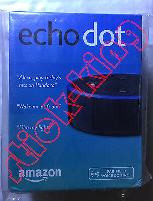 Amazon Echo Dot 2nd Generation Black- Brand new Sealed-