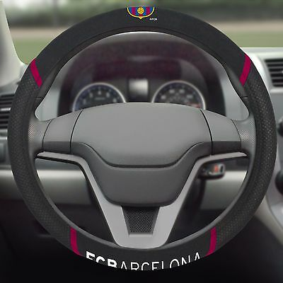 FC Barcelona Embroidered Steering Wheel Cover
