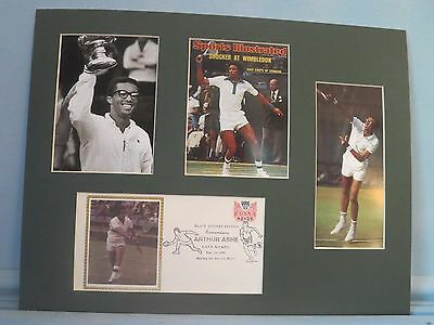 Tennis Great Arthur Ashe wins at Wimbledon - Commemorative Cover