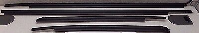 2007-2018 Toyota Tundra DCB Outer Door Belt Moulding 4pc Weatherstrips OEM OE
