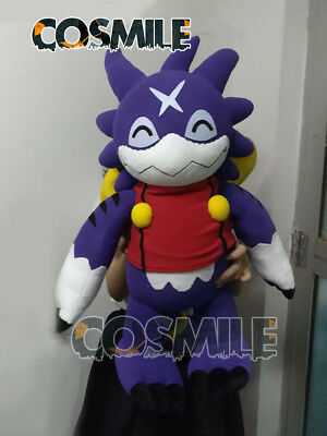 Handwork Gumdramon Digimon Fusion Digital Monster Cosplay Plush Doll Toy 65cm