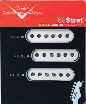 Fender Custom Shop 69 Strat Pickup Set of 3 Brand New USA Made