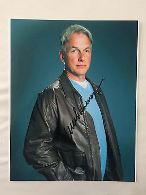 Mark Harmon NCiS signed 8x10 photo