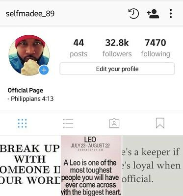 32K Instagram Account For Sale