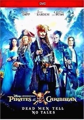 Pirates of the Caribbean Dead Men Tell No TalesNEW DVD 2017-SHIPS ON 10-03