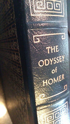 THE ODYSSEY OF HOMER - Easton Press Leather - LIKE NEW