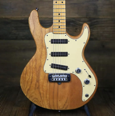 Vintage Peavey T-30 Electric Guitar- Natural- Made in USA-
