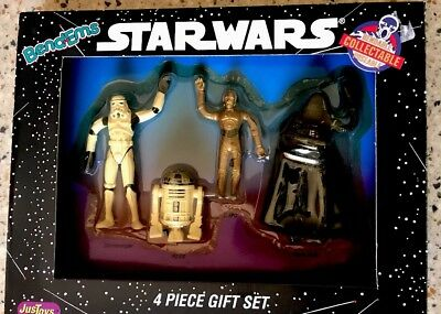 1993 STAR WARS ACTION FIGURES 4 PIECE GIFT SET NEW IN BOX
