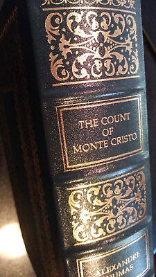 The Count of Monte Cristo by Alexandre Dumas - Easton Press Leather - LIKE NEW