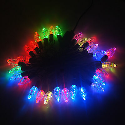 5m 28 pcs LED Light Wire Strawberry String Fairy Lamp For Xams Party Decorate