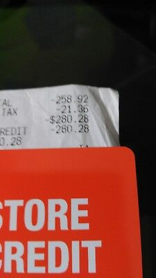 home depot store credit 280-28
