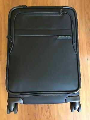 Briggs - Riley Baseline Domestic Carry-On Spinner Lifetime Guarantee