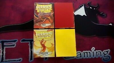 Choose a Color - 100 ct Dragon Shield Sleeves - Standard Sized - MTG Pokemon etc