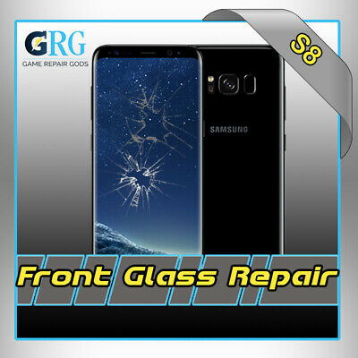 Samsung Galaxy S8 Glass Repair and S8 Plus Glass Repair Mail in Service
