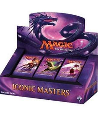 Iconic Masters Booster Box 24 Booster Packs Magic the Gathering MTG