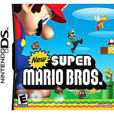 New Super Mario Bros Version GAME ONLY TEST GOOD WORKING (Nintendo DS)