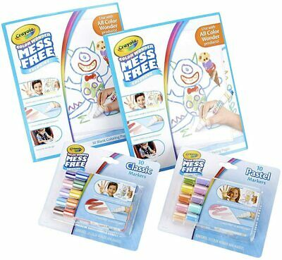 Crayola Color Wonder Markers Papers - Paint Choose your model - Mess Free