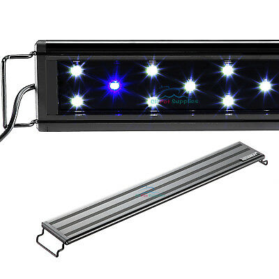 AQUANEAT 0-5W LED Aquarium Light Marine FOWLR Blue - White 12 20 24 30 36 48
