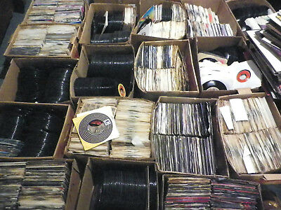 AWESOME LOT OF 50 45RPM RECORDS-  VINYL- RECORDS JUKEBOX- 7 45RPM