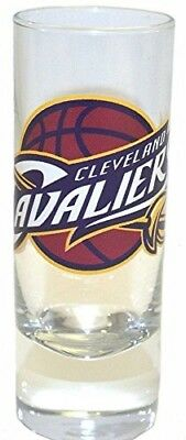 CLEVELAND CAVALIERS SHOT GLASS NBA 2-5 OZ CLEAR CORDIAL SHOOTER GLASS NEW