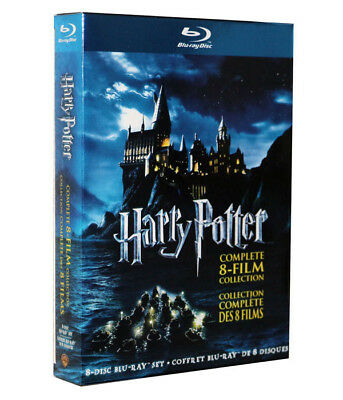 BLU-RAY Harry Potter Complete 8-Film Collection  set Blu-ray 2011 8-Discs