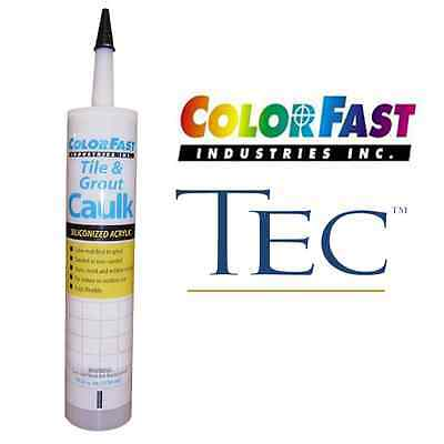 Colored Caulk to Match TEC Grout Colors - Sanded or Unsanded