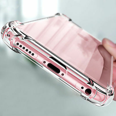 For Apple iPhone X8711 Ultra Thin Transparent Clear Shockproof Bumper Case