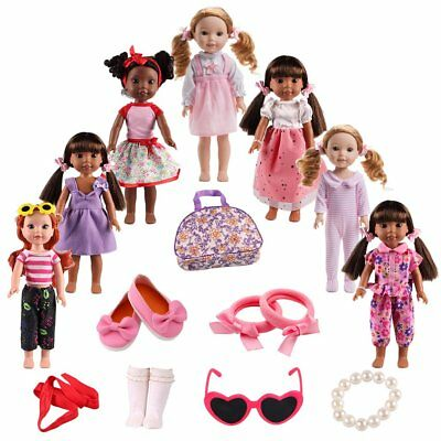 American Girl Doll Clothes Accessories for 14inch 14-5 inch Wellie Wishers Willa