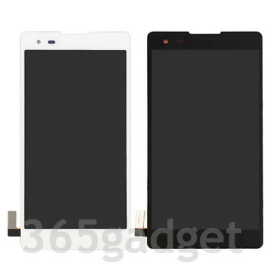 LCD Display Touch Screen Digitizer Frame For LG Tribute HD LS676 K200MT K6B F740