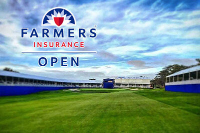 Farmers Insurance Open 2018 Torrey Pines 125-12818 Golf PGA Admission Tickets