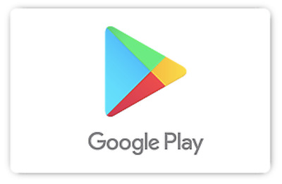 Google Play Gift Code - 25 50 or 100 - email delivery