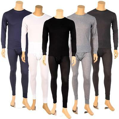 Mens Warm-Wear American Fit 2 PC Thermal Set 100 Cotton New Package US Seller